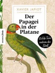 Der Papagei in der Platane
