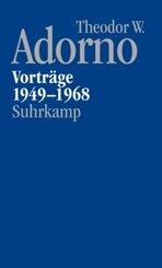 Nachgelassene Schriften: Vorträge und Gespräche (Abteilung 5) - Vorträge 1949-1968; 5/1 - Bd.1