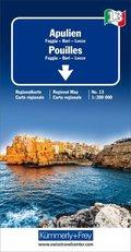 Kümmerly & Frey Karte Apulien