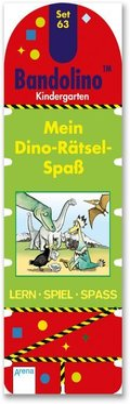 Bandolino (Spiele): Mein Dino-Rätsel-Spaß (Kinderspiel)