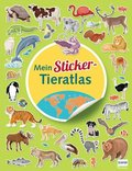 Mein Sticker Tieratlas