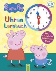 Peppa Pig Uhrenlernbuch - Mit beweglichen Zeigern zum Üben