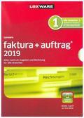 Lexware faktura+auftrag 2019, 1 CD-ROM
