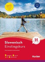 Slowenisch Einstiegskurs für Kurzentschlossene, m. MP3-CD + MP3-Download + Augmented Reality App