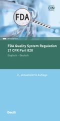 FDA Quality System Regulation