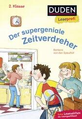Duden Leseprofi - Der supergeniale Zeitverdreher, 2. Klasse