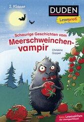 Duden Leseprofi - Schaurige Geschichten vom Meerschweinchenvampir, 2. Klasse