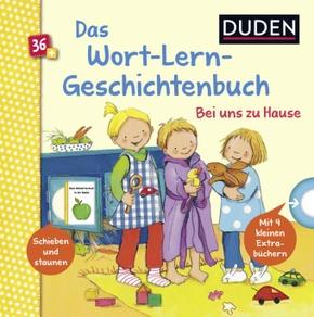 Das Wort-Lern-Geschichtenbuch - Bei uns zu Hause