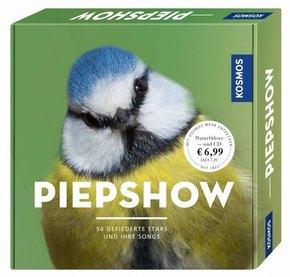 Piepshow, mit Audio-CD - 50 gefiederte Stars und ihre Songs.