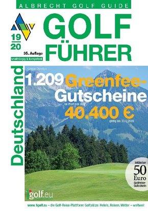 Albrecht Golf Guide Golf Führer Deutschland 2019/20 inklusive Gutscheinbuch
