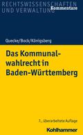 Das Kommunalwahlrecht in Baden-Württemberg