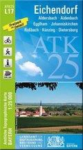 ATK25-L17 Eichendorf (Amtliche Topographische Karte 1:25000)