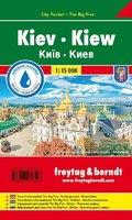 Kiew, Stadtplan 1:15.000, City Pocket + The Big Five; Kiev