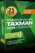 Taxman 2019 für Selbstständige, 1 DVD-ROM