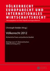 Völkerrecht 2012