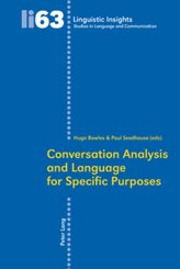 Conversation Analysis and Language for Specific Purposes
