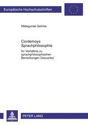 Cordemoys Sprachphilosophie