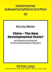 China - The New Developmental State?