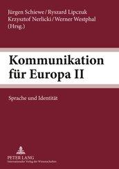Kommunikation für Europa II