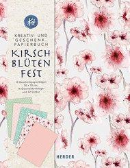 Kreativ- und Geschenkpapierbuch Kirschblütenfest