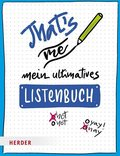 That's me - Mein ultimatives Listenbuch