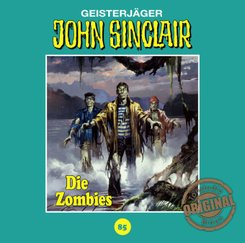 John Sinclair Tonstudio Braun - Die Zombies, 1 Audio-CD