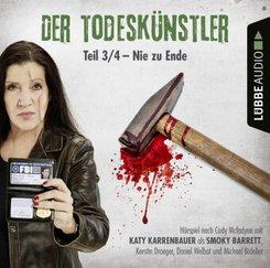 Der Todeskünstler - Nie zu Ende, 1 Audio-CD