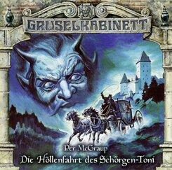 Gruselkabinett - Die Höllenfahrt des Schörgen-Toni, 1 Audio-CD