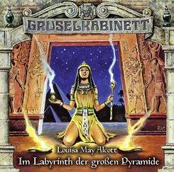 Gruselkabinett - Im Labyrinth der großen Pyramide, 1 Audio-CD