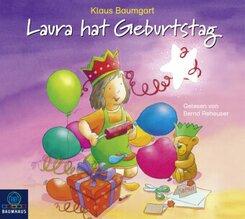 Laura hat Geburtstag, 1 Audio-CD