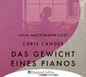 Das Gewicht eines Pianos, 6 Audio-CDs