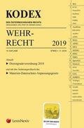 KODEX Wehrrecht 2019