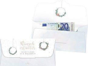 Kuvert für ein Geld- oder Gutscheingeschenk - Wunscherfüller
