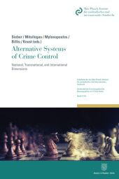 Alternative Systems of Crime Control.
