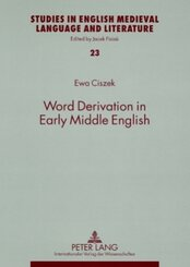 Word Derivation in Early Middle English