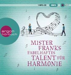 Mister Franks fabelhaftes Talent für Harmonie, 1 Audio-CD, MP3