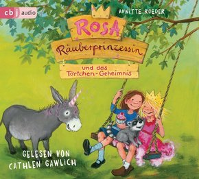 Rosa Räuberprinzessin und das Törtchen-Geheimnis, 1 Audio-CD