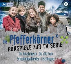 Die Pfefferkörner - Hörspiele zur TV Serie, 2 Audio-CDs - Staffel.15