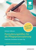 Formulierungshilfen für die Pflegeprozessplanung