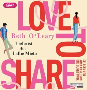 Love to share - Liebe ist die halbe Miete, 2 MP3-CDs