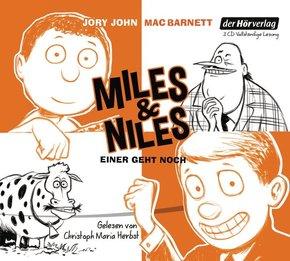 Miles & Niles - Einer geht noch, 3 Audio-CDs