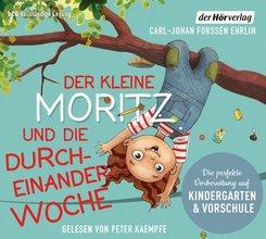 Der kleine Moritz und die Durcheinander-Woche, 1 Audio-CD