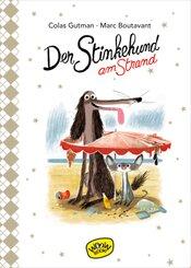 Der Stinkehund am Strand