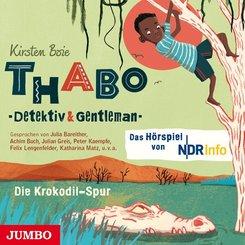 Thabo. Detektiv & Gentleman - Die Krokodil-Spur, 1 Audio-CD