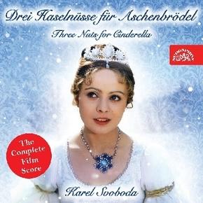Drei Haselnüsse für Aschenbrödel, 1 Audio-CD (Soundtrack)