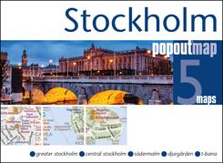 Stockholm PopOut Map