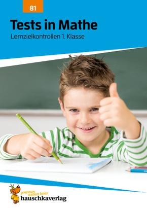 Tests in Mathe - Lernzielkontrollen 1. Klasse