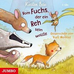Vom Fuchs, der ein Reh sein wollte, 3 Audio-CDs