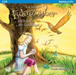 Eulenzauber - Im Kreis der Goldflügel, 3 Audio-CDs