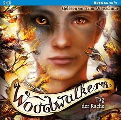 Woodwalkers - Tag der Rache, 5 Audio-CDs